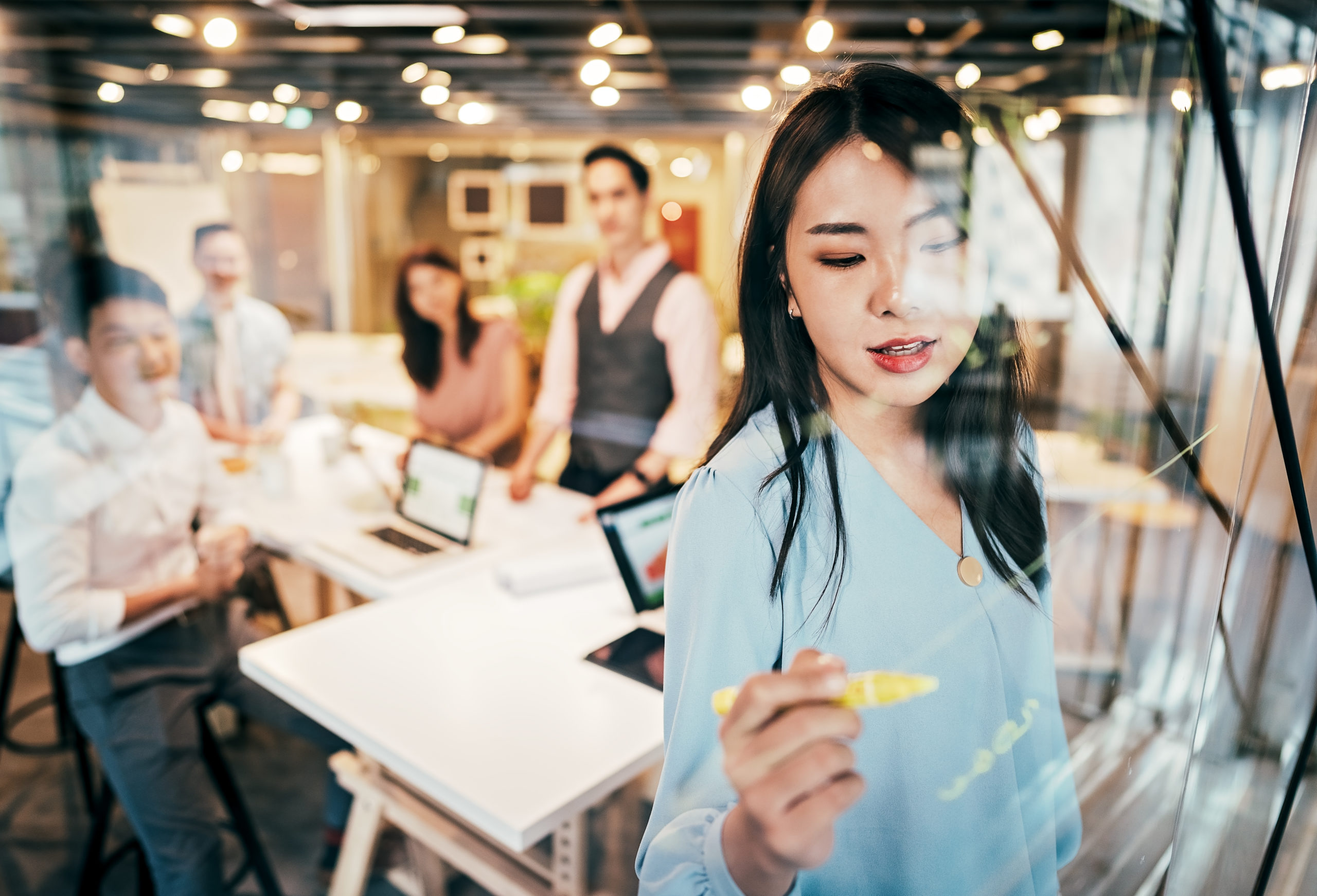 Companies with thriving culture see double rate of return