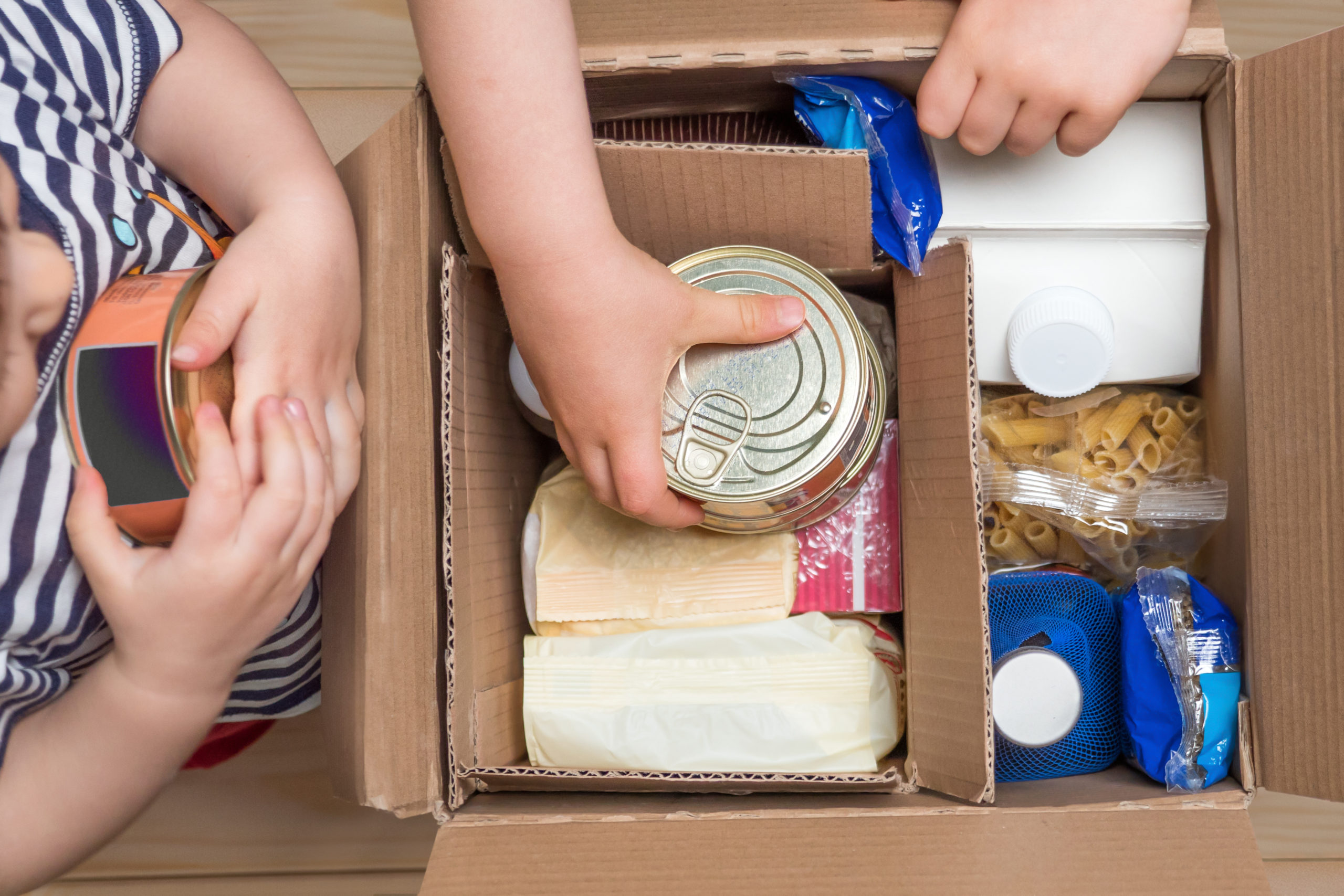 Investment manager coalition urge Compass to take action over inadequate food parcels