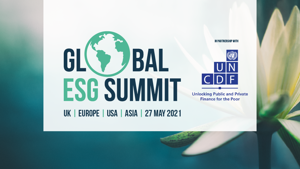 Announcing the Global ESG Summit in partnership with UNCDF
