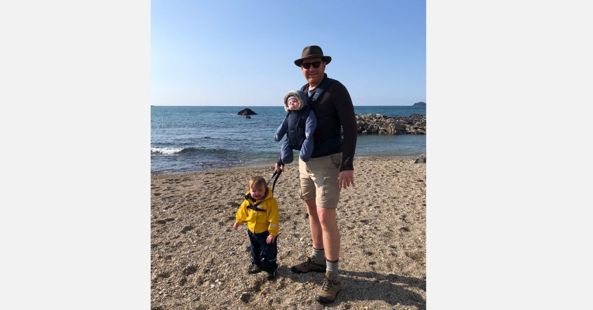 Staycation with Invesco's Clive Emery: Cliff jumping and crabbing in Cornwall