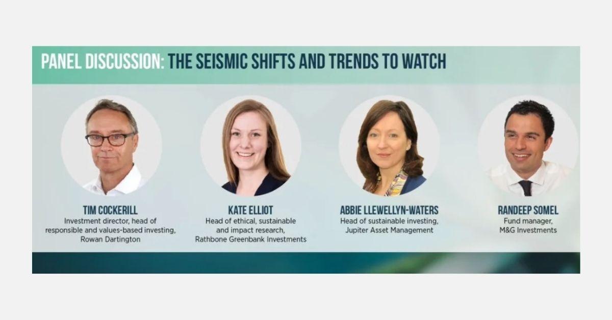 Global ESG Summit: Trends driving further ESG demand