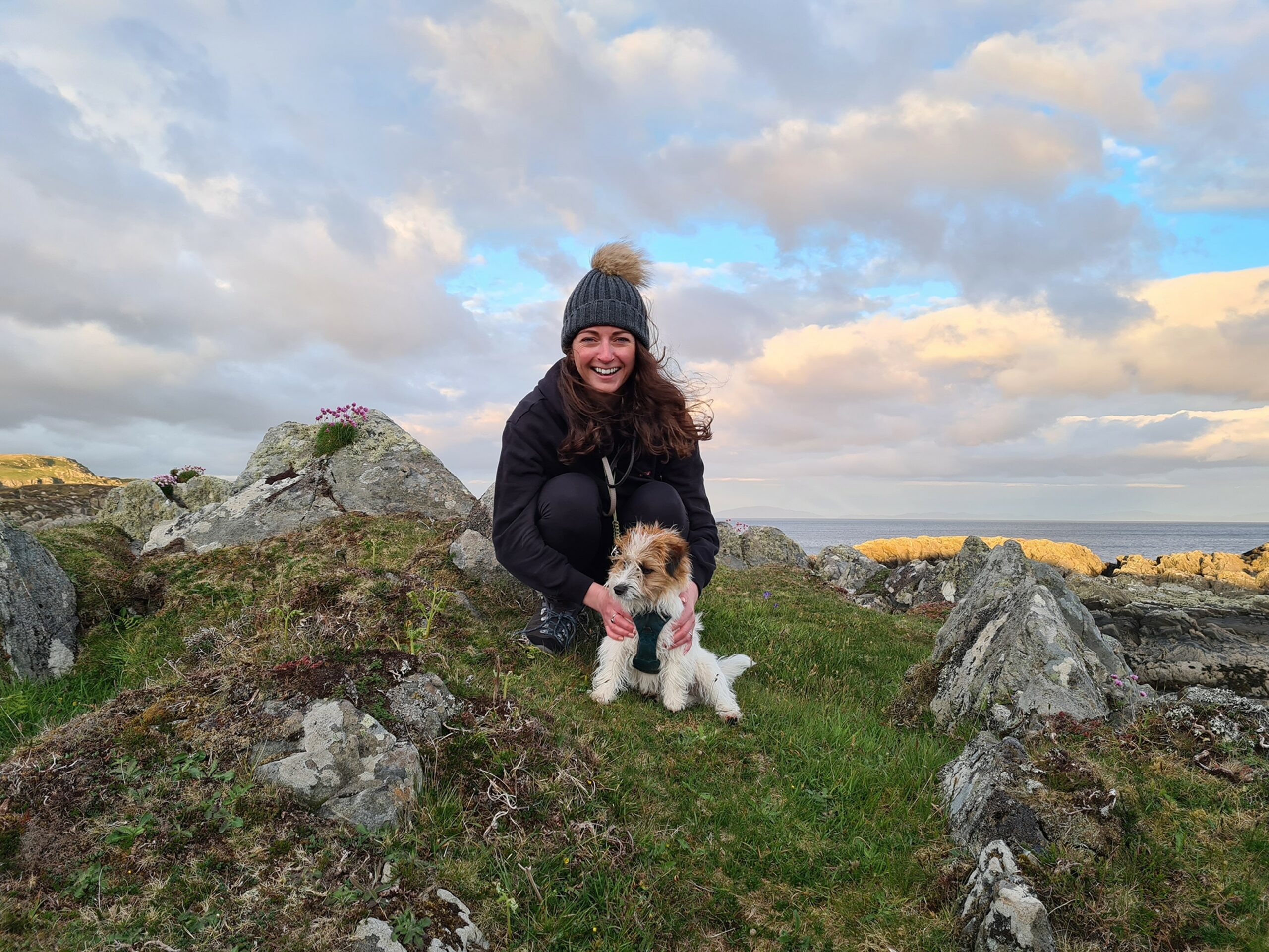 Staycation with Aegon's Georgina Laird: Scottish beaches, solar panels and switching off