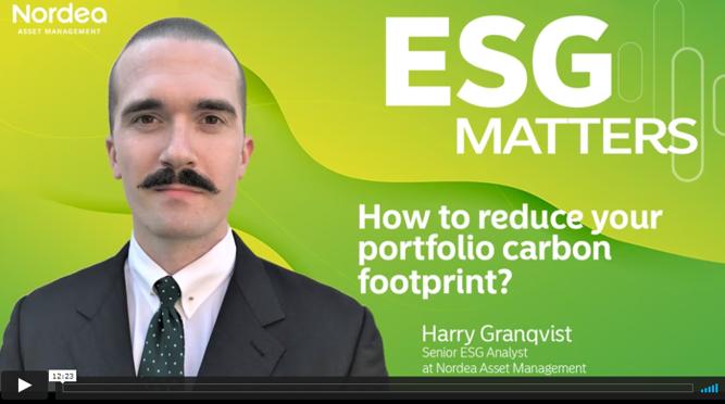 Good news: You can reduce your portfolio's carbon footprint